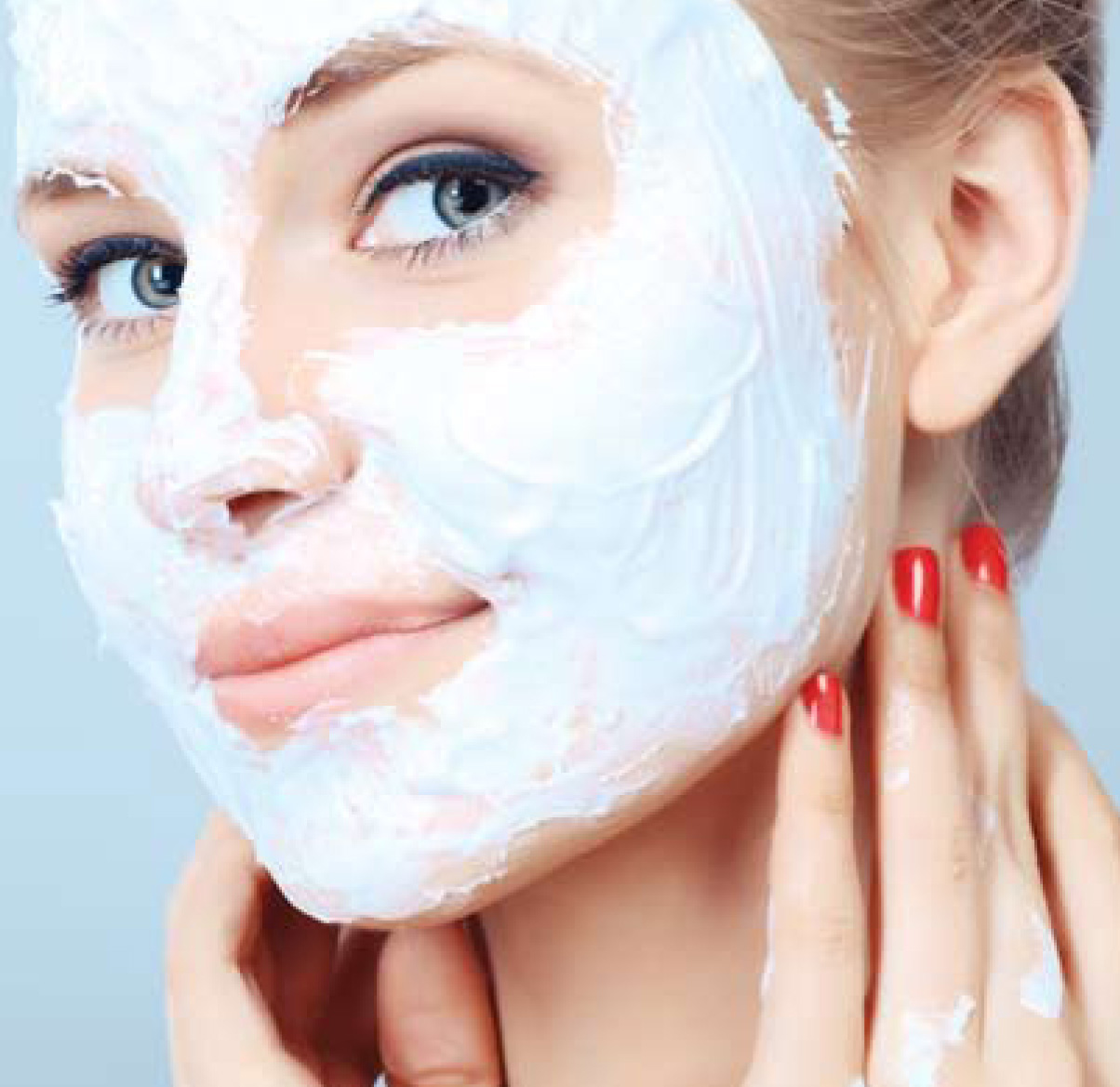 Clay Mask Scars a Green Clay Mask is